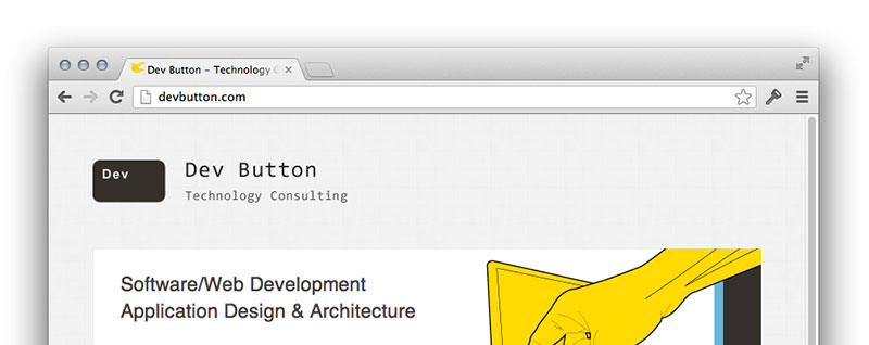 devbutton.com re-styled (and shoutouts to: HTML5 BoilerPlate, Font Awesome & PHPStorm)